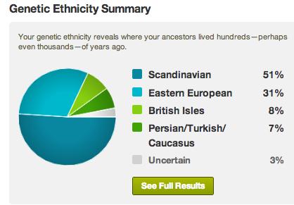 my ethnicity summary