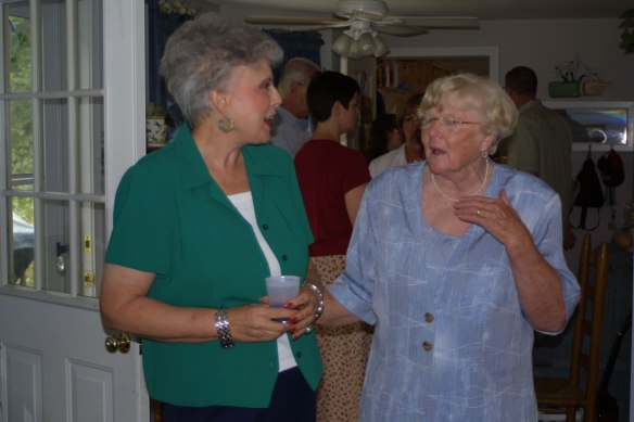 Sandra and Betty Lucey Bedard August 2002