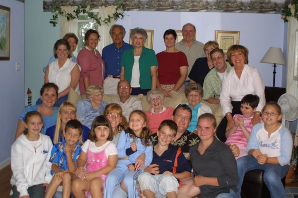 Lucey Family Reunion Aug 2002