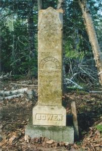 Bowen Headstone