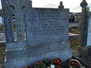 Mann headstone, St. Colman's Cemetery, Cobh, Ireland